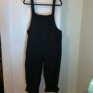 Zanzea Other - Ava Cotton Overalls Black- Kismet